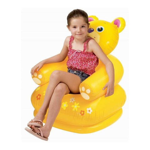 Inflatable Kids Sitting Sofa - Bear