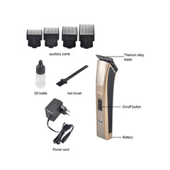 Kemei KM-5017 Hair Trimmer Rechargeable Electric Hair Clipper