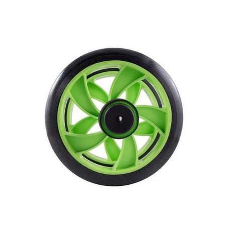 Double wheeler Exercise wheel - Green & Black
