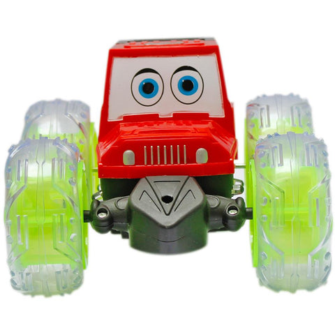 Full Rotation Kids Car with Colorful Lights - Multicolor
