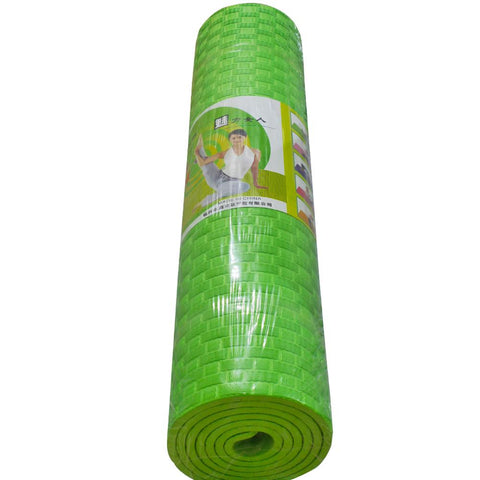 6mm Anti Exercise Yoga Mat-Green