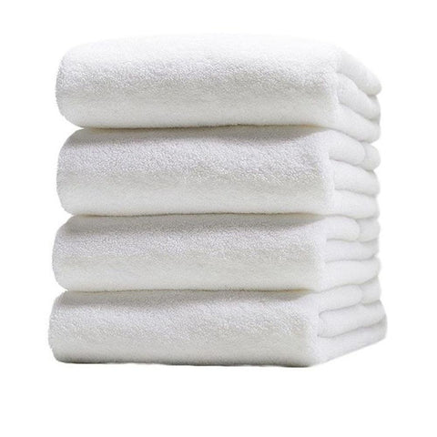 Pack of 4 - Bath Towels - White