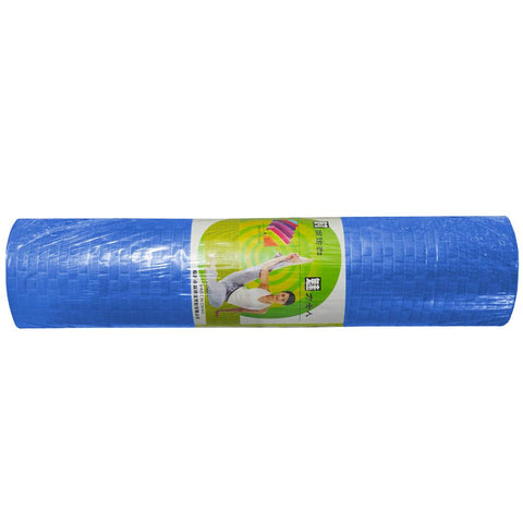 6mm High Density Anti-Tear Exercise Yoga Mat-Blue