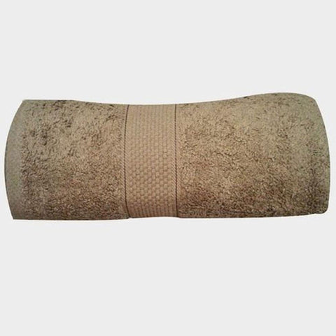 Cotton Lite brown bath towel