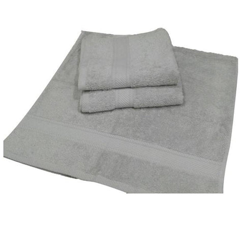 Cotton bath Hand Towel - Grey