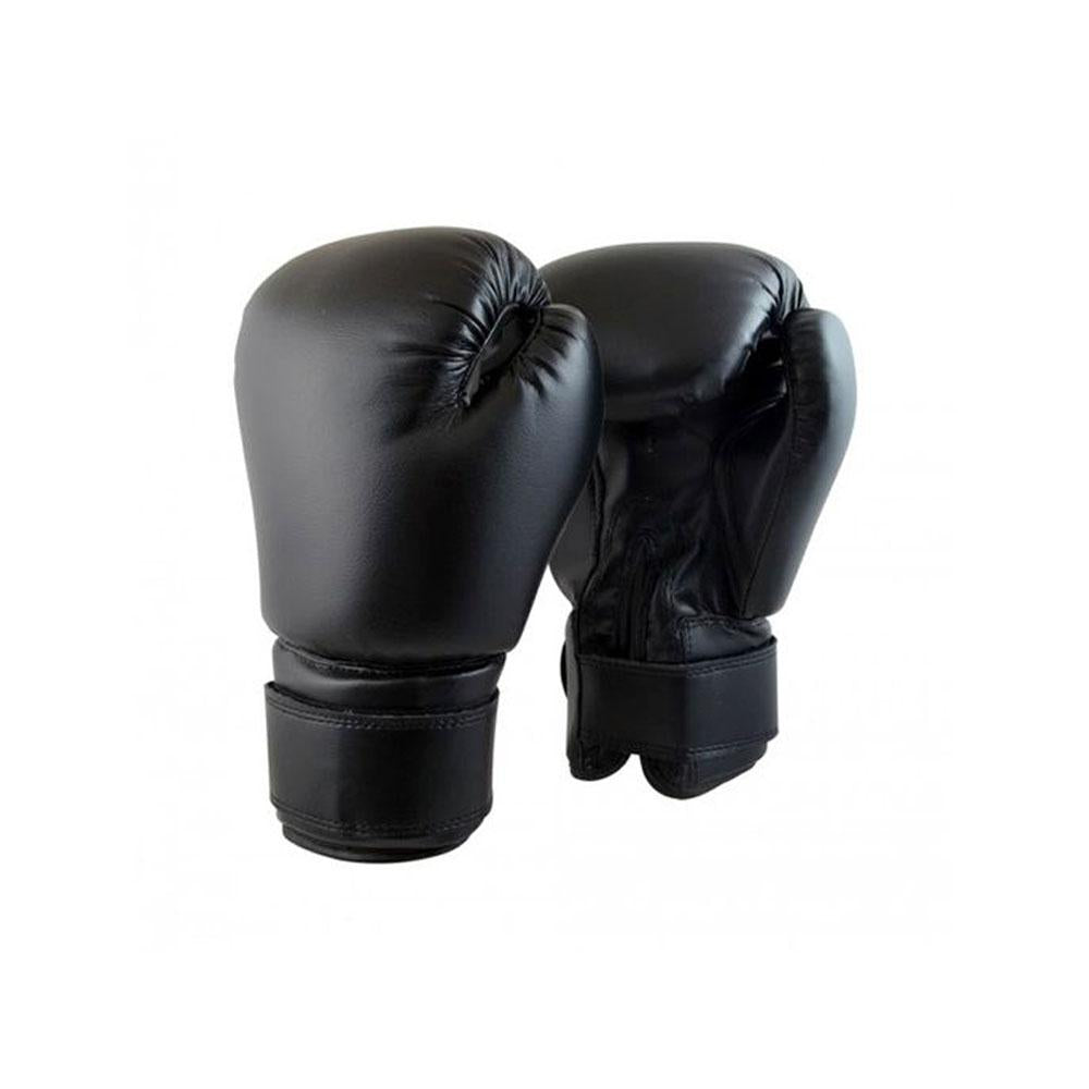 Boxing Bag & Gloves - Black 4feet