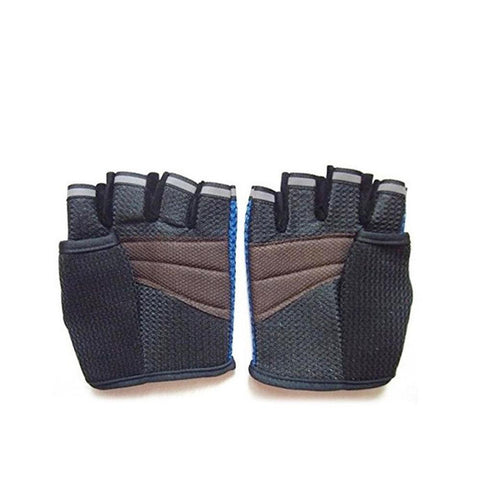Neoprene Gym Training Gloves - Black