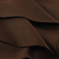 Unstiched Wash & Wear Gents Fabric- Choco Brown - Kurta Only - 2.25m
