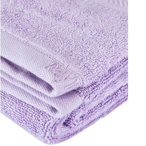 Light Purple Cotton Bath Towel