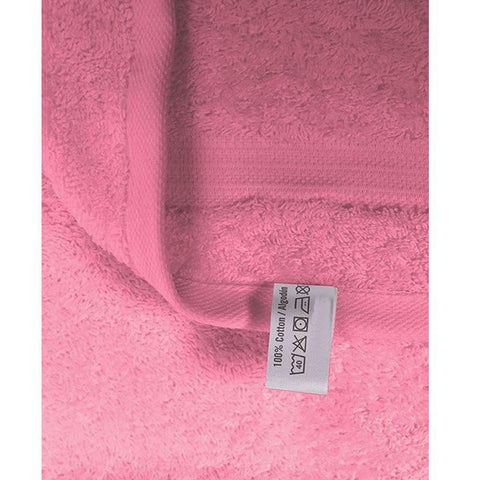Cotton Pink bath towel small size