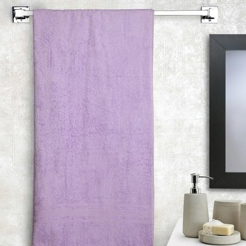 Cotton Purple bath towel small size