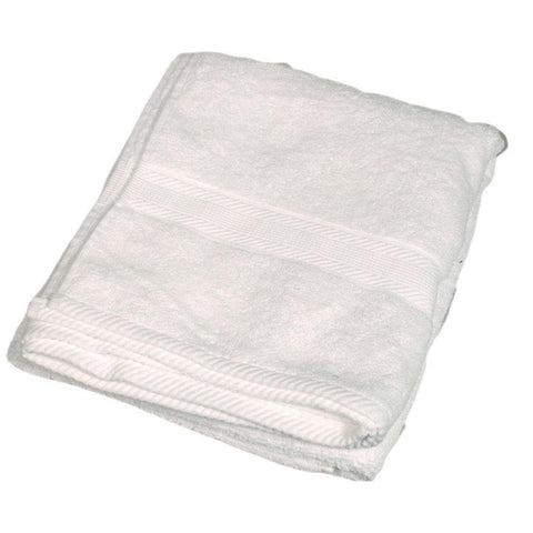 COTTON BATH TOWEL-White