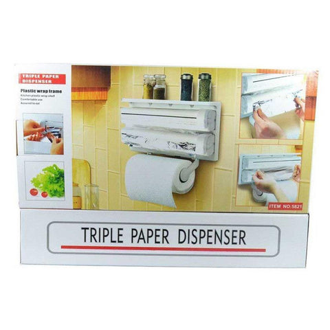 Wall Mount Paper Towel Holder-White