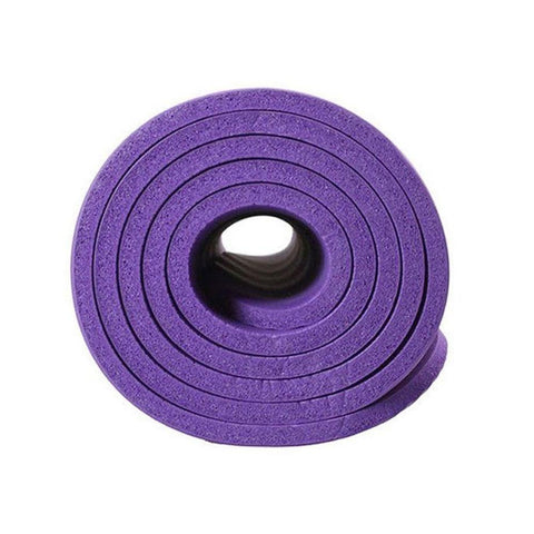 6mm High Density Anti-Tear Exercise Yoga Mat-Purple