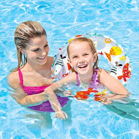 Safety Ring for Bathing & Swimming - Multicolor