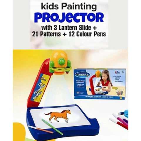 Kids Projector Painting 3 in 1 Play Drawing Board