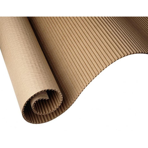 Brown Paper Wrapping Corrugated Sheet - 30 Feet Length