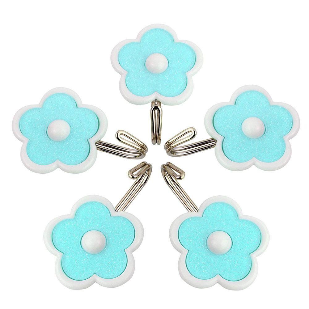 3 Piece Wall Hook Set- Flower with Star