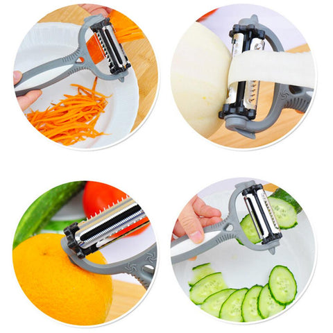 3 in 1 Peeter + Flaking + Grator Peeler