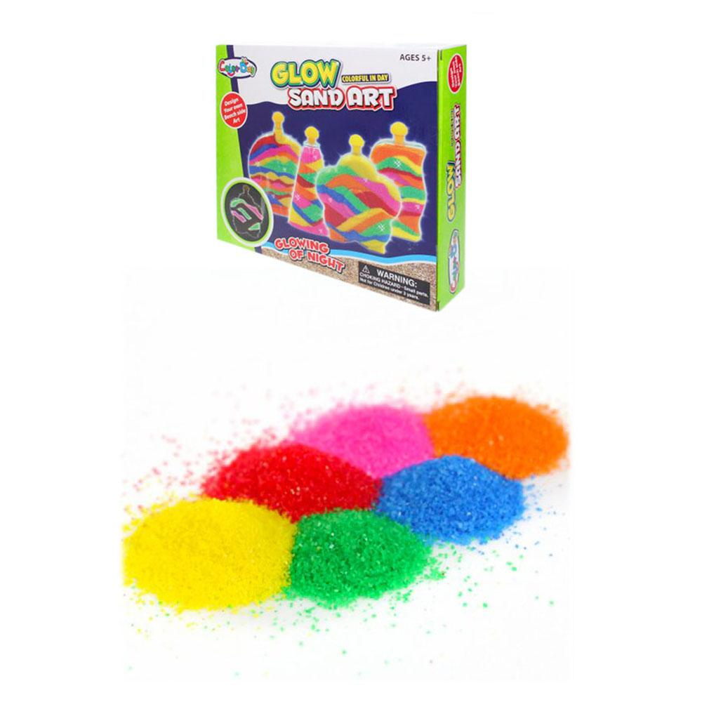 Glow Sand Art - Multicolor Pack