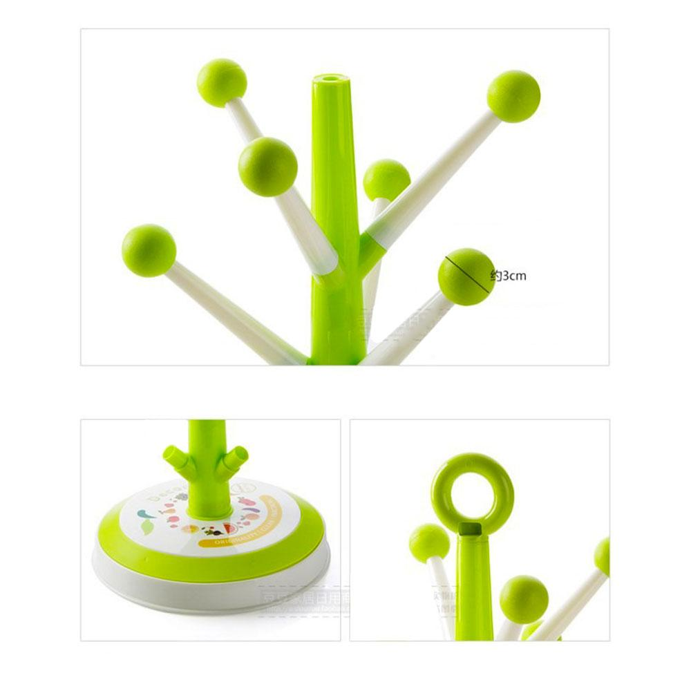 Candy Tree Stand 8 Position Cup Holder Round Base Creative / Decorative Coffee, Cup, Glass, Mug, Holder Bottle Drying Stand Drainer Dryer Cutlery Stand - Multicolor