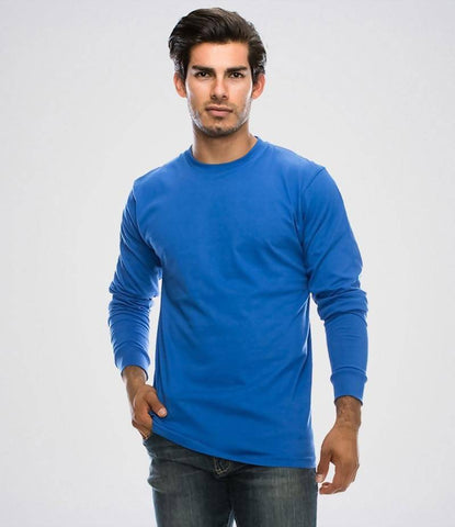 Men's Pack Of 3 Long Sleeve T-Shirts. BTG-N3AJ