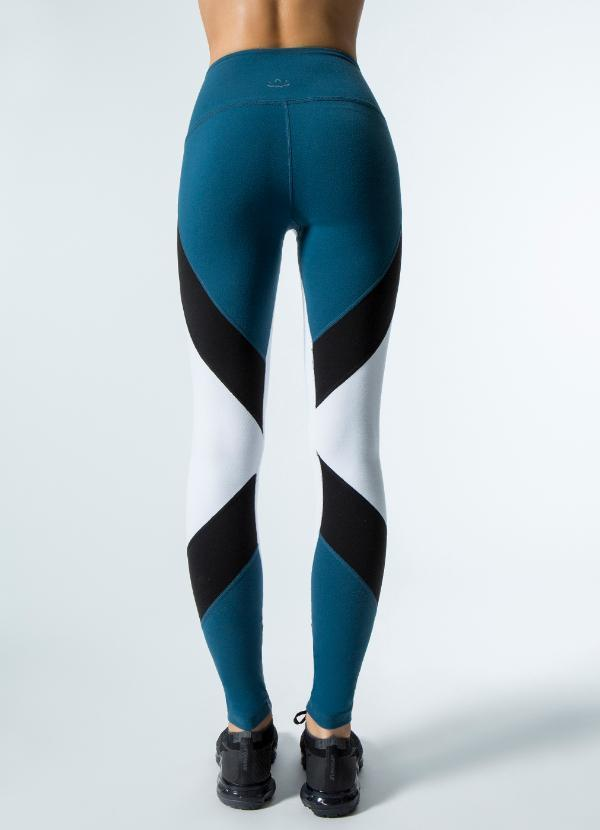 AROUND THE COLORBLOCK HIGH WAISTED LONG LEGGING