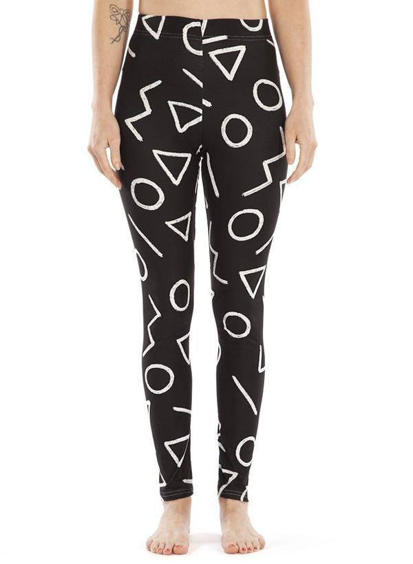 Happy Pattern  LEGGINGS