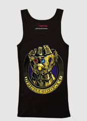 Virgin Teez Thanos Infinite Power Tank Top