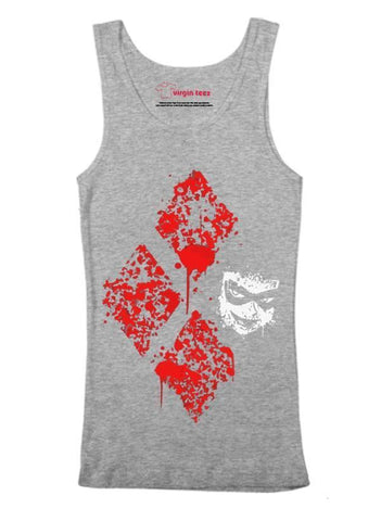 Virgin Teez Harley Card Tank Top