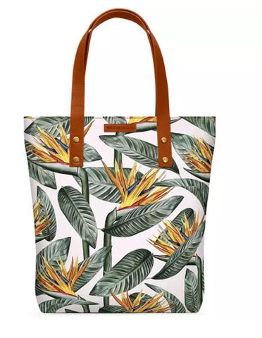 Bird Of Paradise Leaves Classic Tote Bag