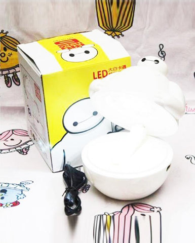 Rechargeable Adjustable Folding Table 16 LED Lamp For Kids  - Baymax