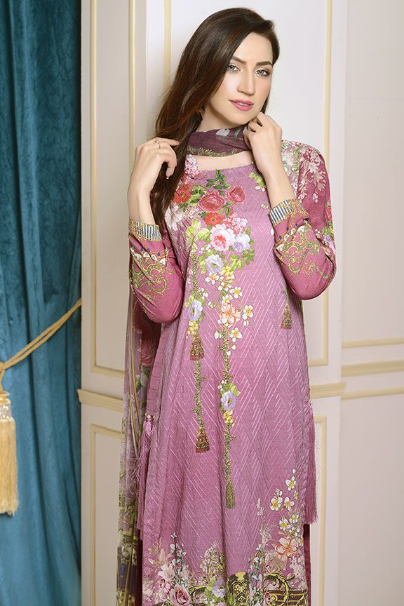 Motifz Digital Printed Lawn Unstitched 2229-Print-A