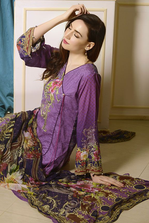 Motifz Digital Printed Lawn Unstitched 2233-Print-A