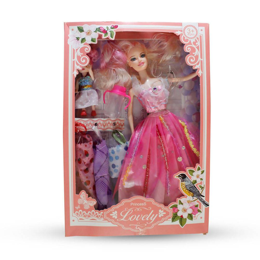 New Fashion Lovely Princess Doll Gift Pack with Ultimate Dress-up