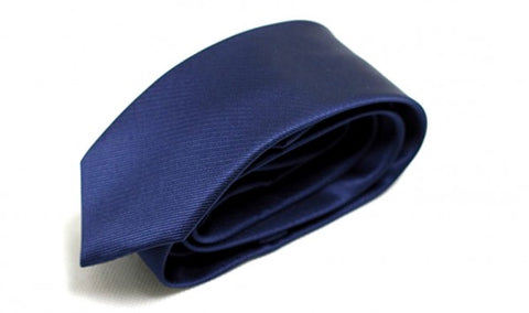Navy Blue Linning Tie For Men