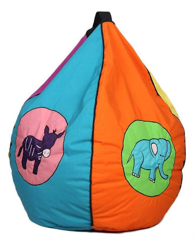 Relaxsit Toddler Bean Bag Embroidered - Multicolor