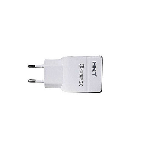 HKT Qualcomm Fast Charger with Cable for Samsung