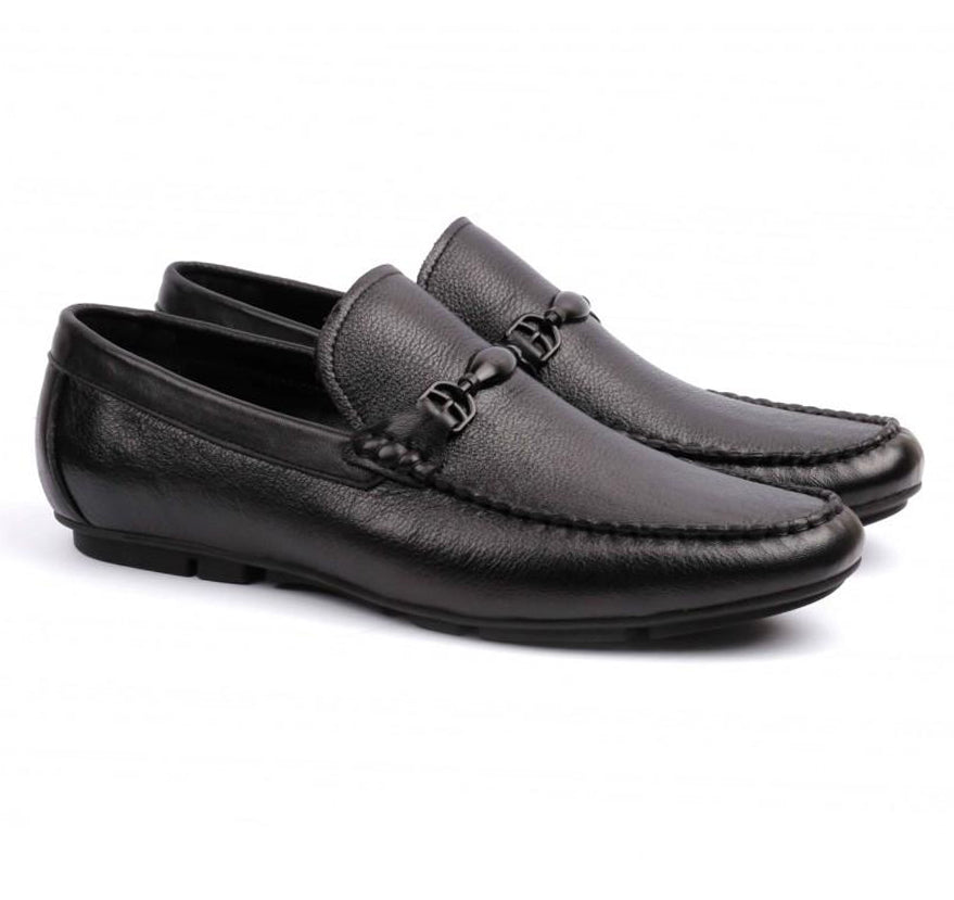 LOGO Men Formal Leather Shoes 2436 BKA