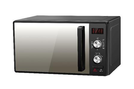 23 Ltr Roast Microwave Oven Grill Black