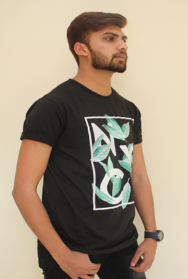 Mens T-Shirt Round Neck - RN10