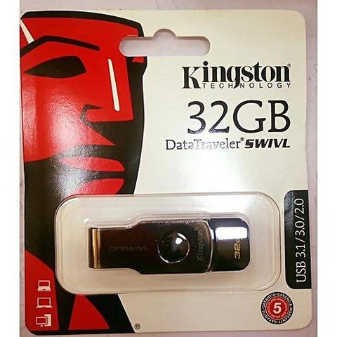 Kingston 32 GB Data Traveler SWIVL