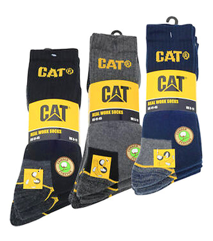 Pack of 12 Winter Warm Branded CAT Socks For Men
