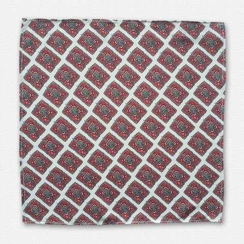 Swiss Ajrak Pocket Square