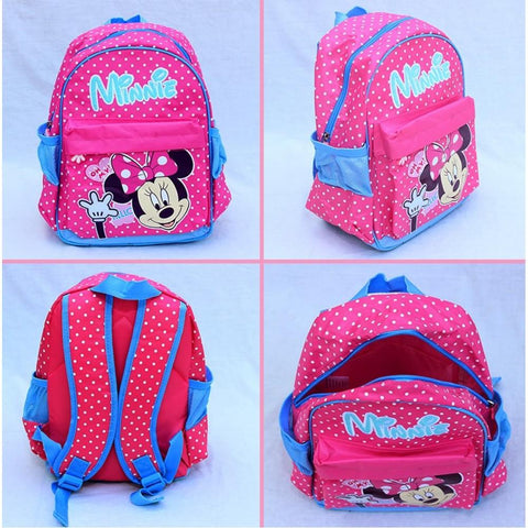 Minnie Mouse School Bag Backpack For kids