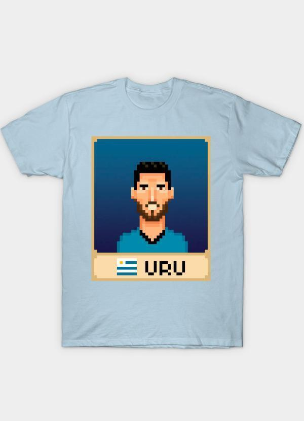 Virgin Teez Luis Suárez Skyblue T-Shirt