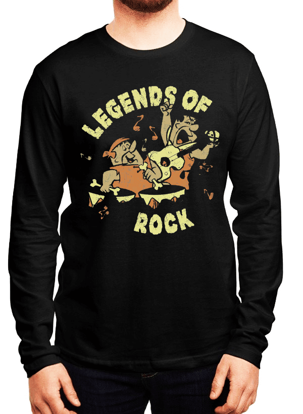 Virgin Teez LEGENDS OF ROCK Full Sleeves T-shirt