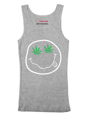 Virgin Teez Nirvana Smile Tank Top