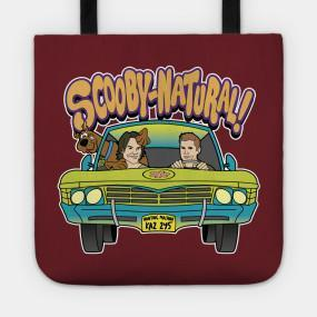 Supernatural Mystery Machine Scooby Tote Bag
