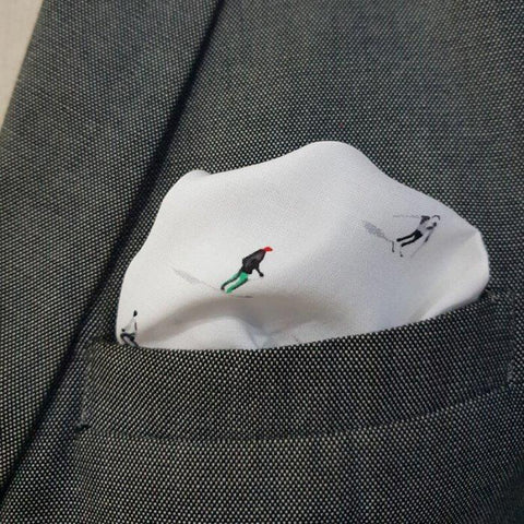 Winter Fest Pocket Square